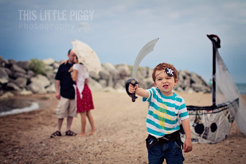 Chicago family beach photography