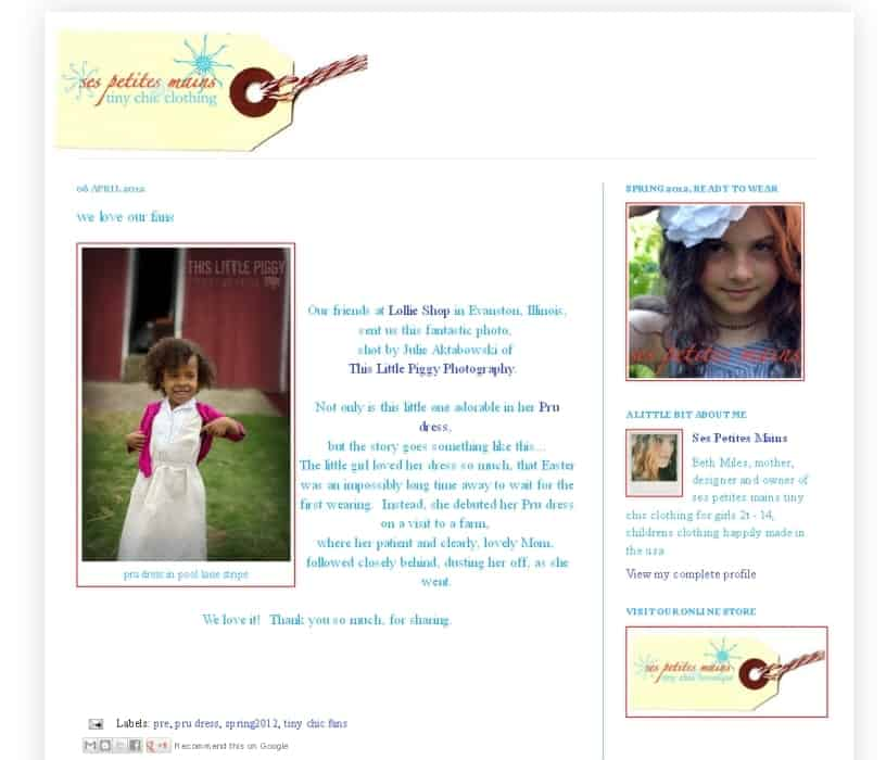 featured child photography