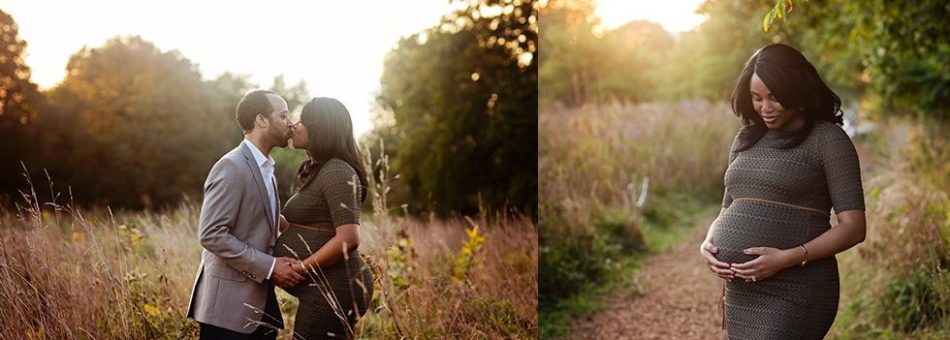 Natural Light Maternity Portraits